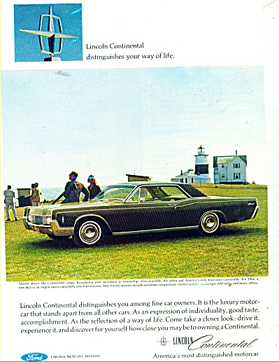 Lincoln Continental for 1966 ad (Image1)