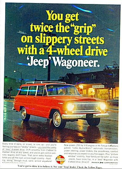Jeep Wagoneer ad 1966 (Image1)