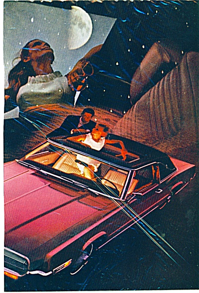 Ford Thunderbird for 1969 ad (Image1)