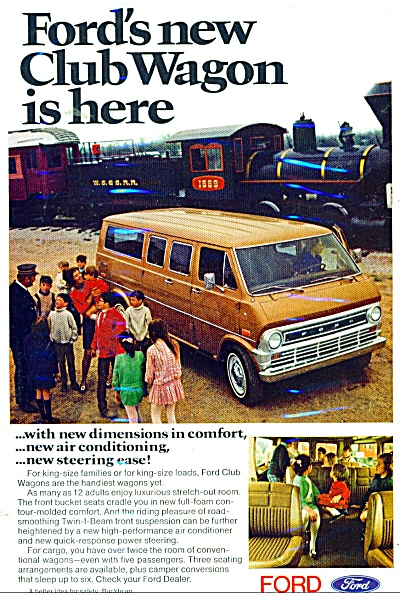 Ford club wagon ad  1971 (Image1)