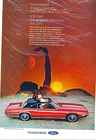 Thunderbird automobile for 1969 (Image1)