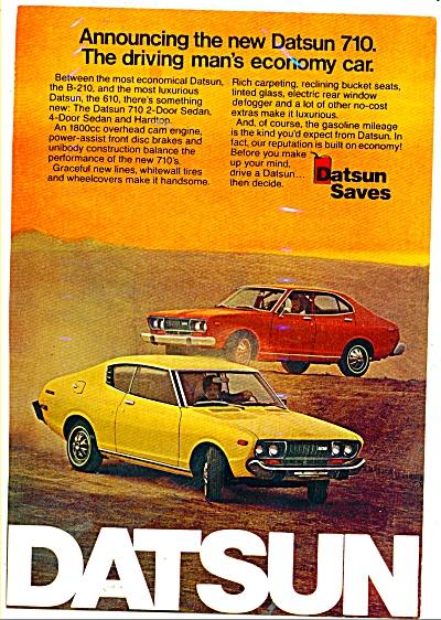 Datsun automobile ad 710 ECONOMY (Image1)