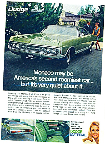 Dodge Monaco ad 1969 (Image1)