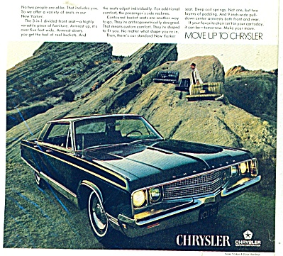 Chrysler New Yorker  automobile ad 1968 (Image1)