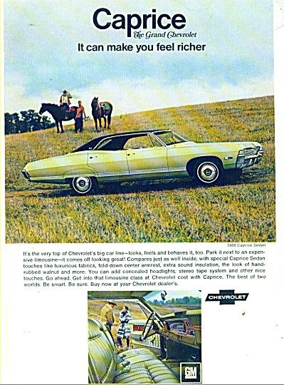 Chevrolet Caprice ad - 1968 (Image1)