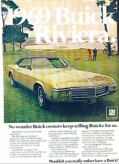 Buick Riviera for 1969 ad (Image1)