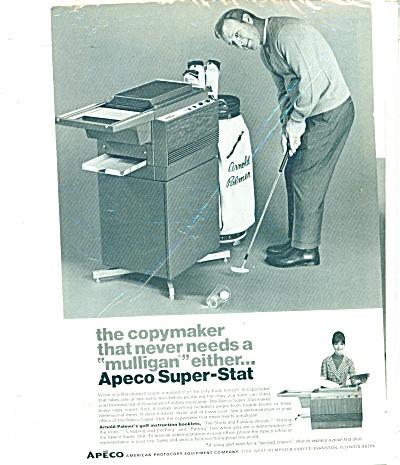 APECO - ARNOLD PALMER  - ad  1969 (Image1)