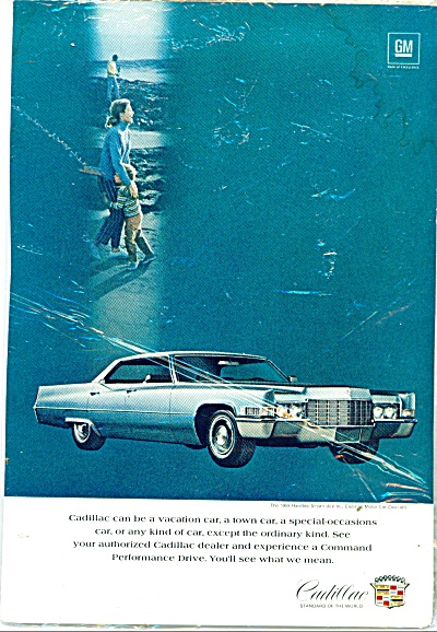 Cadillac Auto For 1969 Ad