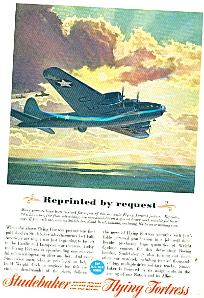 1943 Studebaker- Flying Fortress AD TELLANDER (Image1)