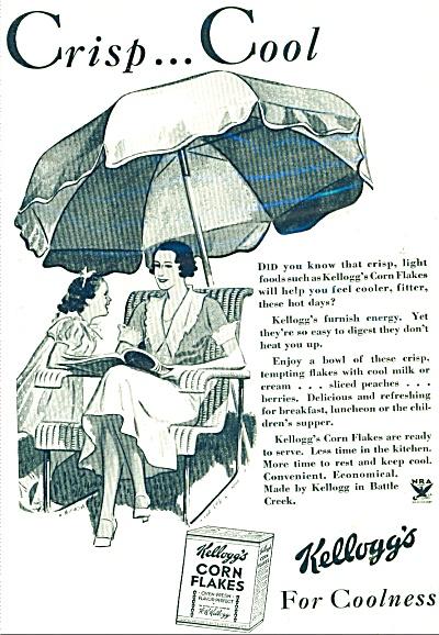 Kellogg's corn flakes ad  1934 (Image1)