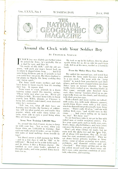 Around the clock with your soldier boy - 1941 (Image1)