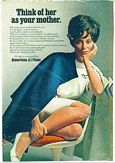 American Airlines STEWARDESS is your MOTHERad (Image1)