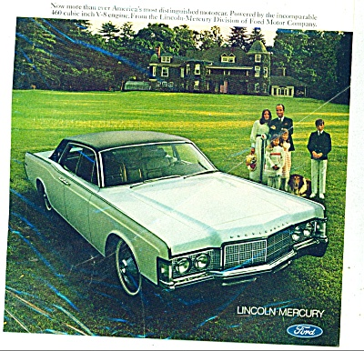 Lincoln Continental for 1969 ad (Image1)