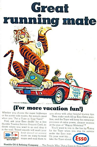 Esso gasoline ad - 1968 (Image1)
