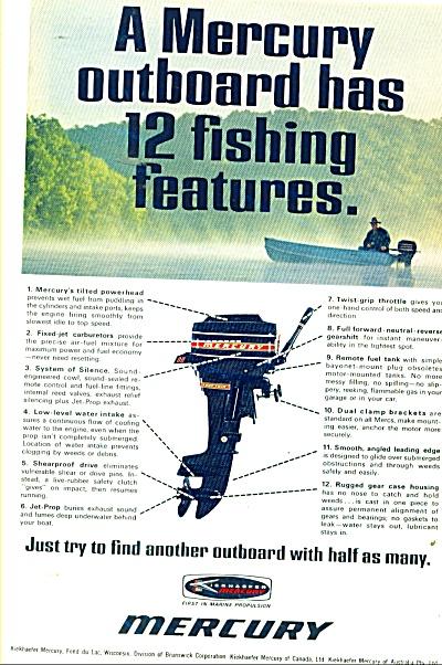 Mercury outboard motors ad 1968 (Image1)