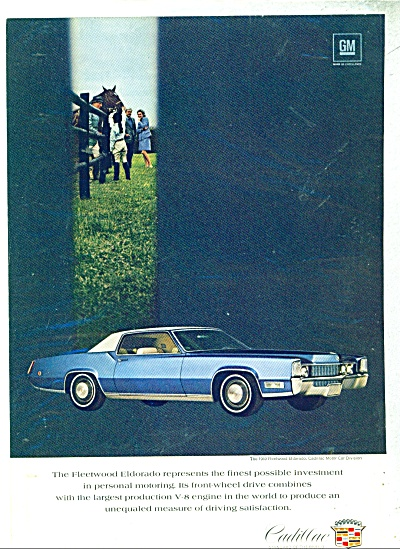 Cadillac Motor car for 1969 (Image1)