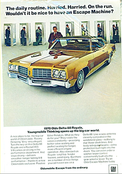 Olds Delta 88 Royale For 1970 Ad