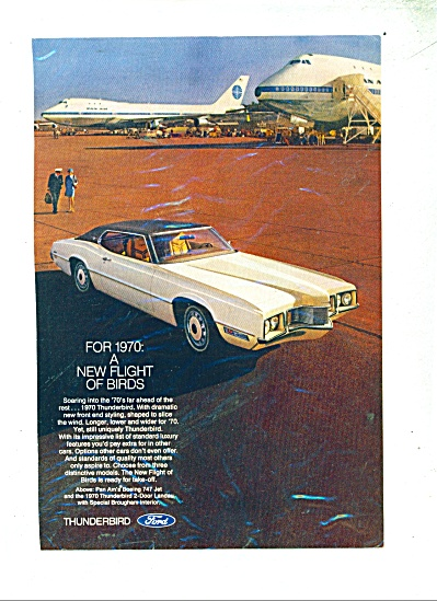Ford Thunderbird for 1970 ad (Image1)