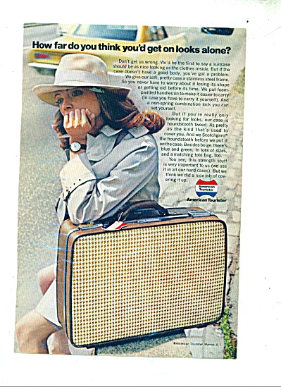 American Tourister luggage ad 1969 (Image1)