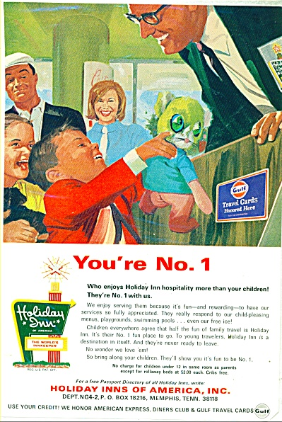 Holiday Inns of America ad - 1969 (Image1)