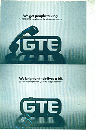 GTE TELEPHONE ad (Image1)