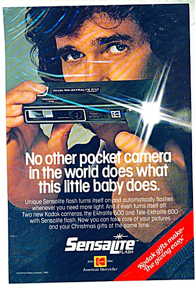 Sensalite flash camera ad 1980 (Image1)