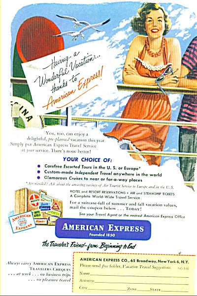 American Express Co. 1952 (Image1)
