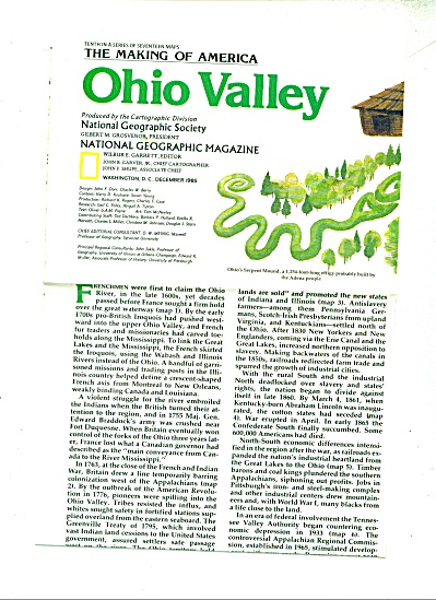 Ohio Valley (The making of america) 1985 (Image1)