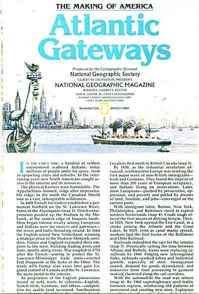 Atlantic Gateways (The making of America) (Image1)