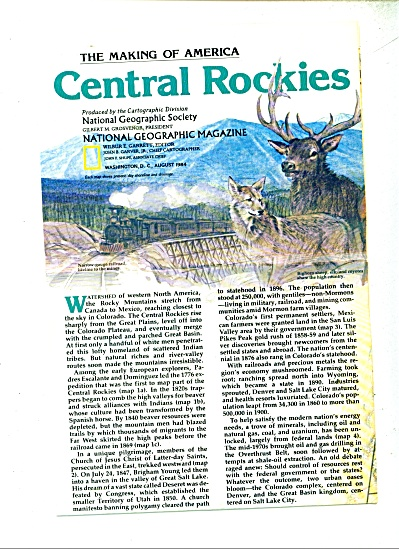 Central Rockies (The Making of America) 1984 (Image1)
