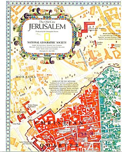 Jerusalem (The Old City) 1996 (Image1)