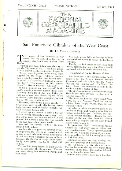 1943 San Francisco: Gibraltar of  West Coast (Image1)