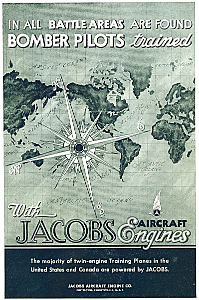 Jacobs aircraft engines ad  1943 (Image1)