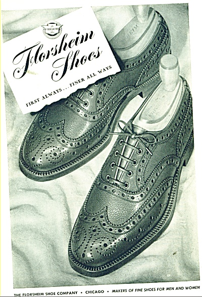 Florsheim Shoes ad 1946 (Image1)