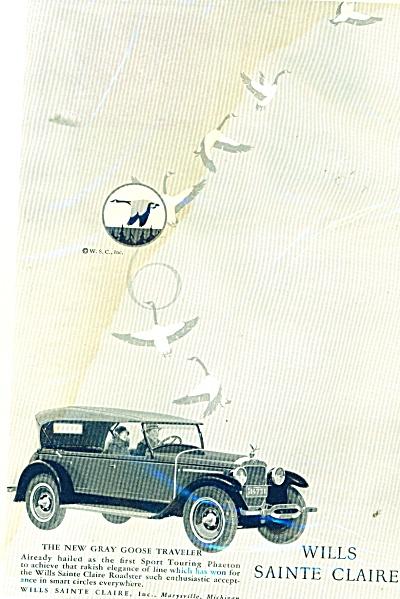 Wills Sainte Claire auto  1926 (Image1)