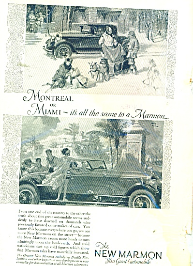 The New Marmon automobile ad - 1926 (Image1)