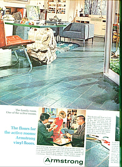 Armstrong vinyl floors ad CORONELL CORLON (Image1)