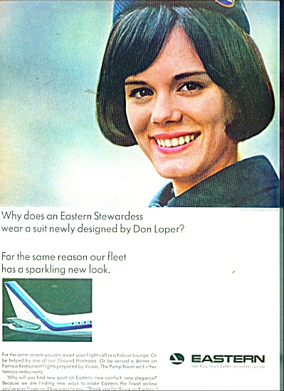 Eastern Airlines Ad 1965