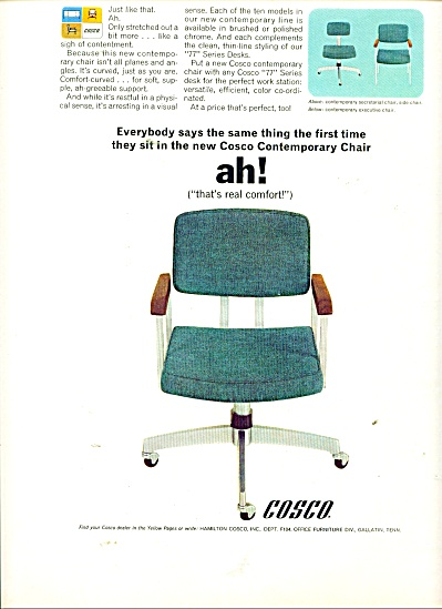 Cosco contemporary Chair ad (Image1)