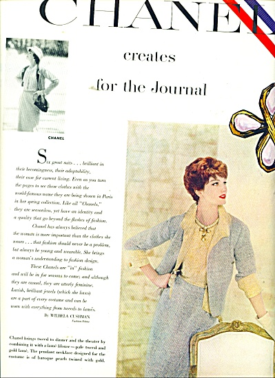 Chanel Creates For The Journal Ads