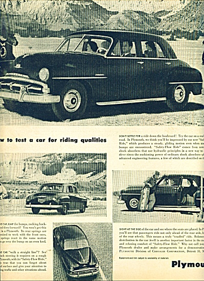 Plymouth automobile ad (Image1)
