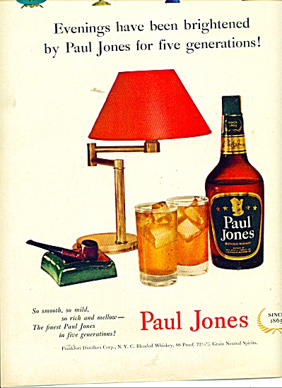 Paul Jones Blended whisky ad (Image1)