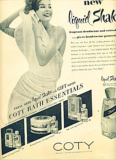 Coty deodorant and refreshant ad (Image1)