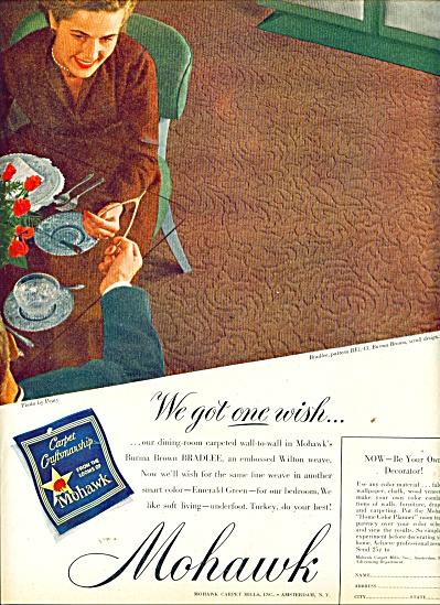 Mohawk Carpet mills Inc. ad 1949 (Image1)