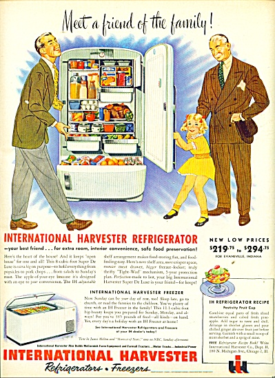 International Harvester refrigerators & Freez (Image1)