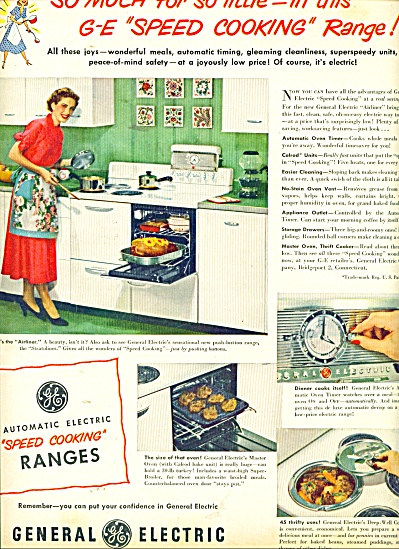 General Electric range ad 1949 (Image1)