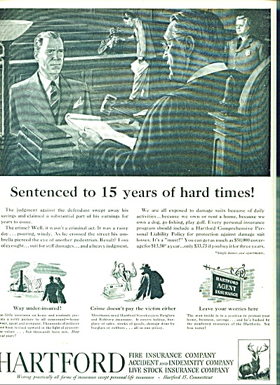 1947 Hartford Insurance AD Sentence in Court (Image1)