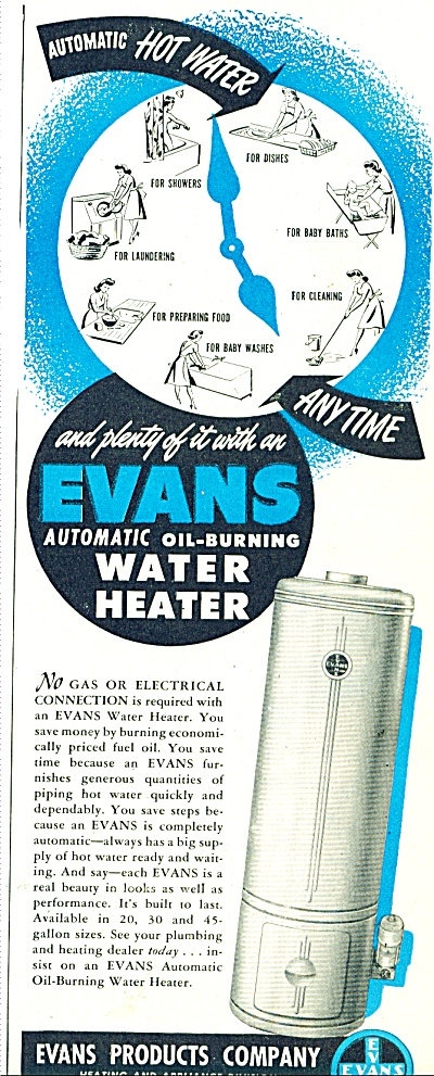 Evans Products Company ad 1947 (Image1)