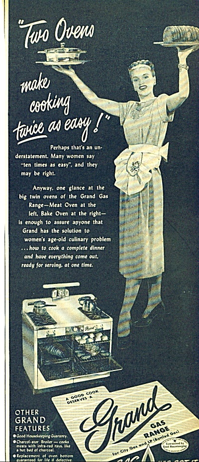 Grand Gas range ad 1947 (Image1)