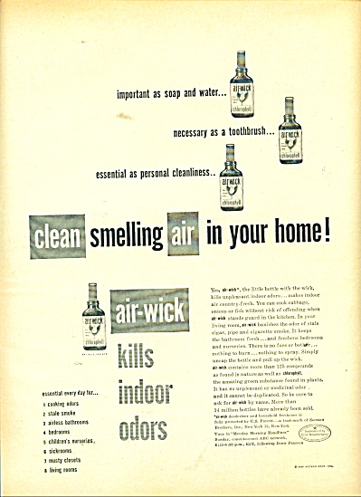 Airwick  aircleaner ad 1947 (Image1)
